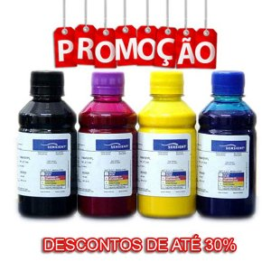 Tinta Pigmentada Sensient para Uso em Epson - 100ml