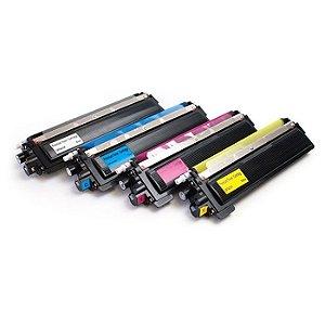 Kit 4 Toner Compatível TN210 TN215 - MFC 9010CN | MFC 9120 | MFC 9320 | HL 3040CN | HL 3070