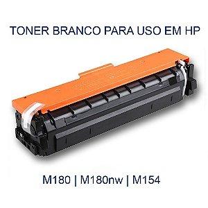 Toner Branco (White) para Impressora M180 | M-180 da HP - Transfer Laser
