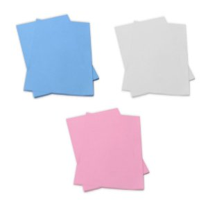 Papel Sublimático Fundo Azul, Branco, Rosa 100g com 100 folhas - Tamanho A4