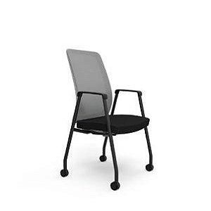 Cadeira Diretor Aproximação  Giratória Vélo