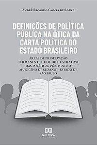 Definições de Política Pública na ótica da carta política do
