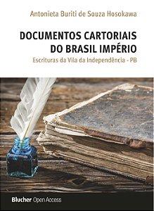 Documentos cartoriais do Brasil império