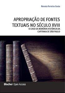 Apropriação de fontes textuais no século XVIII