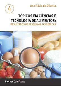 Tópicos em ciências e tecnologia de alimentos