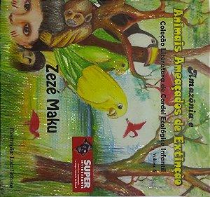 AMAZÔNIA E ANIMAIS AMEAÇADOS DE EXTINÇÃO