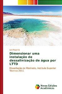 Dimensionar uma instalação de dessalinização de água por LTTD
