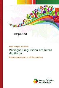 Variação Linguística em livros didáticos