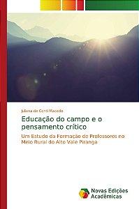 Educação do campo e o pensamento crítico