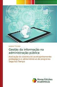 Gestão da informação na administração pública