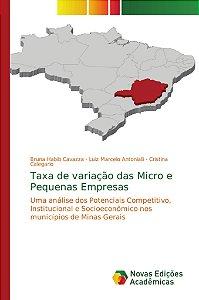 Taxa de variação das Micro e Pequenas Empresas