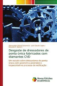 Desgaste de dressadores de ponta única fabricados com diamantes CVD