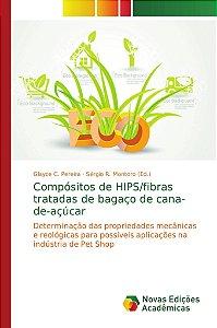 Compósitos de HIPS/fibras tratadas de bagaço de cana-de-açúcar