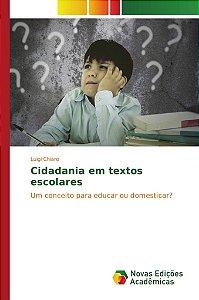 Cidadania em textos escolares