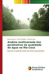 Análise multivariada dos parâmetros de qualidade de água no Rio Cocó
