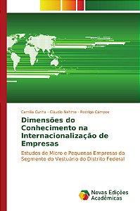 Dimensões do Conhecimento na Internacionalização de Empresas