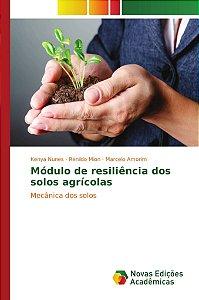 Módulo de resiliência dos solos agrícolas