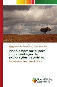 Plano empresarial para implementação de explorações pecuárias