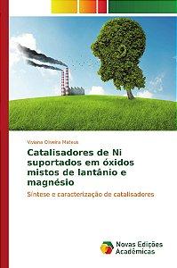 Catalisadores de Ni suportados em óxidos mistos de lantânio e magnésio
