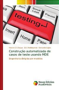 Construção automatizada de casos de teste usando MDE