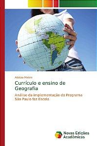 Currículo e ensino de Geografia