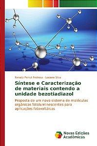 Síntese e Caracterização de materiais contendo a unidade bezotiadiazol