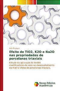 Efeito de TiO2, K2O e Na2O nas propriedades de porcelanas triaxiais