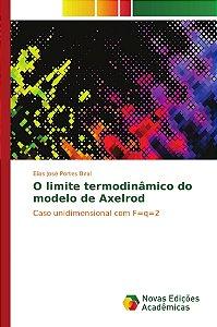 O limite termodinâmico do modelo de Axelrod