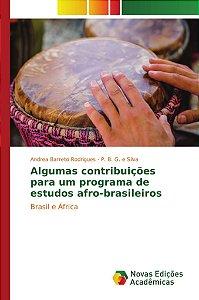 Algumas contribuições para um programa de estudos afro-brasileiros