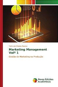 Marketing Management Volº 1
