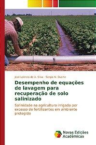 Desempenho de equações de lavagem para recuperação de solo salinizado