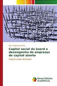 Capital social do board e desempenho de empresas de capital aberto
