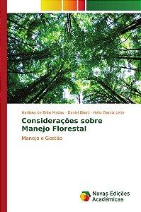 Considerações sobre Manejo Florestal