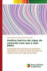Análise teórica de vigas de concreto com aço e com PRFV