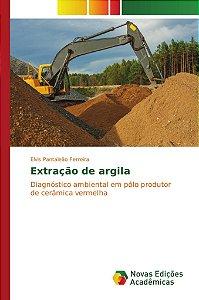 Extração de argila