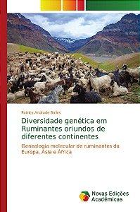 Diversidade genética em Ruminantes oriundos de diferentes continentes