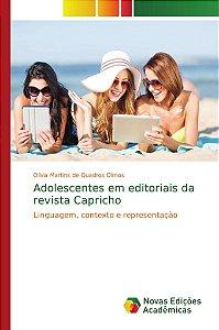 Adolescentes em editoriais da revista Capricho