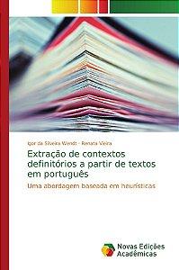 Extração de contextos definitórios a partir de textos em português
