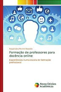 Formação de professores para docência online