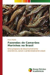 Fazendas de Camarões Marinhos no Brasil
