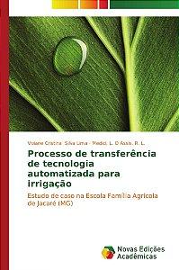 Processo de transferência de tecnologia automatizada para irrigação