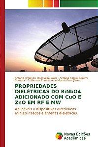 Propriedades dielétricas do BiNbO4 adicionado com CuO e ZnO em RF e MW