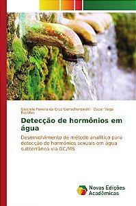 Detecção de hormônios em água