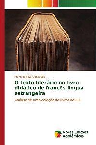 O texto literário no livro didático de francês língua estrangeira