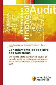 Cancelamento de registro das auditorias