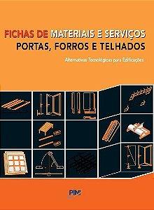 Fichas de Materiais e Serviços - Portas, Forros e Telhados