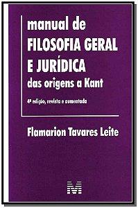 Manual de Filos Geral e Jurídica das Origens