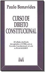 Curso de Direito Constitucional - 34Ed/19