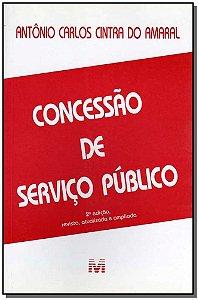 Concessão de Serviço Público - 02 Ed. - 2002