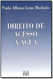 Direito de Acesso à Água - 01Ed/18